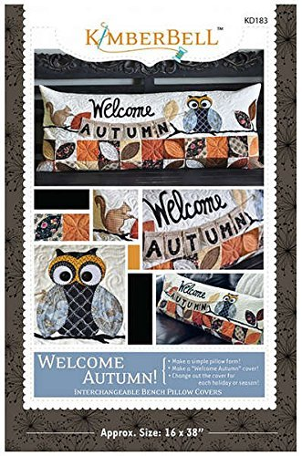 (Kimberbell Welcome Autumn Bench Pillow Pattern KD183)