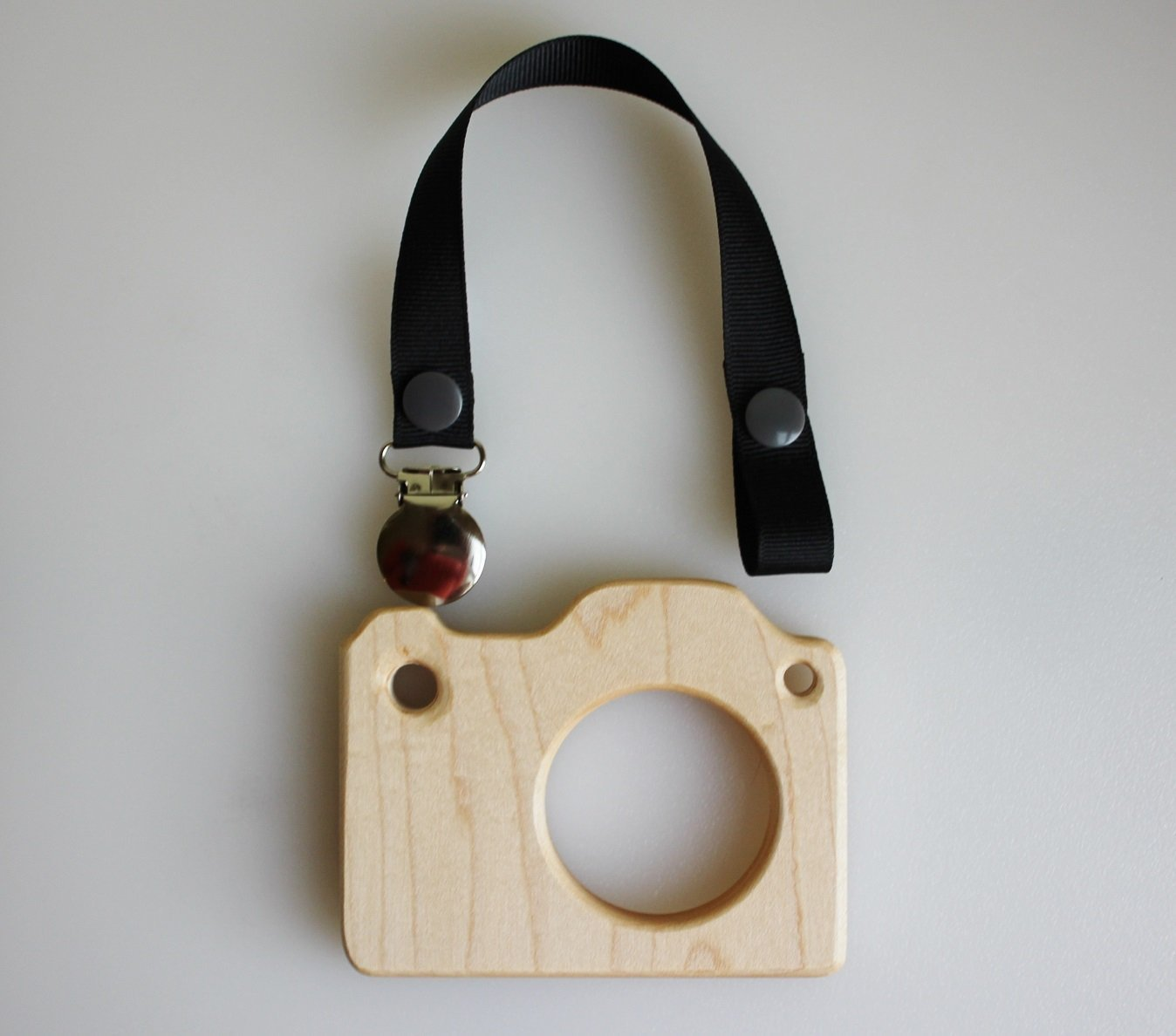 Wooden Camera Teether | Play Camera | Pretend Camera | Wooden Toys | Organic Teether | Camera Teether