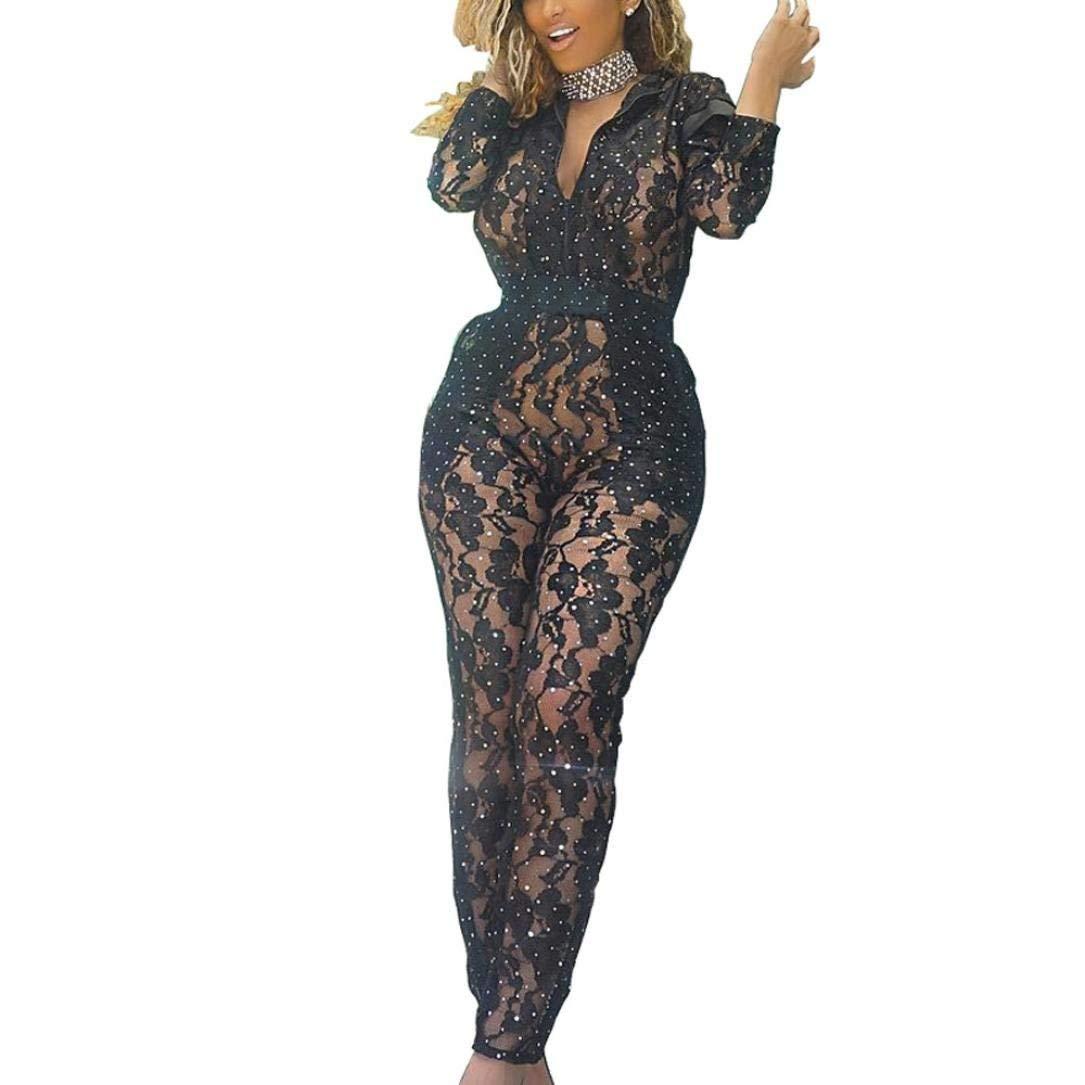 43256bcb1c7 Qiusa Salopette Noir Floral Jumpsuit Womens Dames