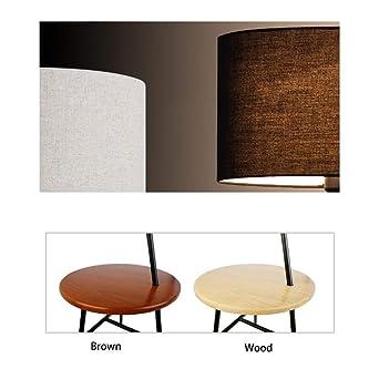 lámpara de mesa de pie moderna sala de estar redonda de ...