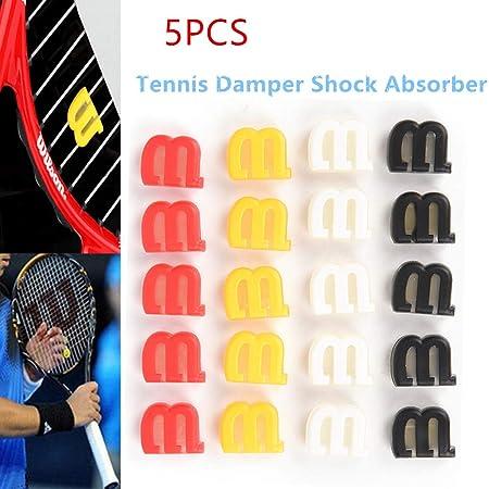 DINGWEN Amortiguador de Tenis, 5 Unidades, Colores para ...