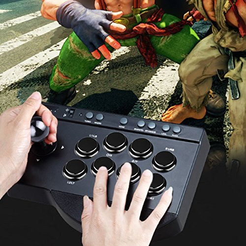 Gamelec Arcade Buttons and Joystick DIY Controller Kit for