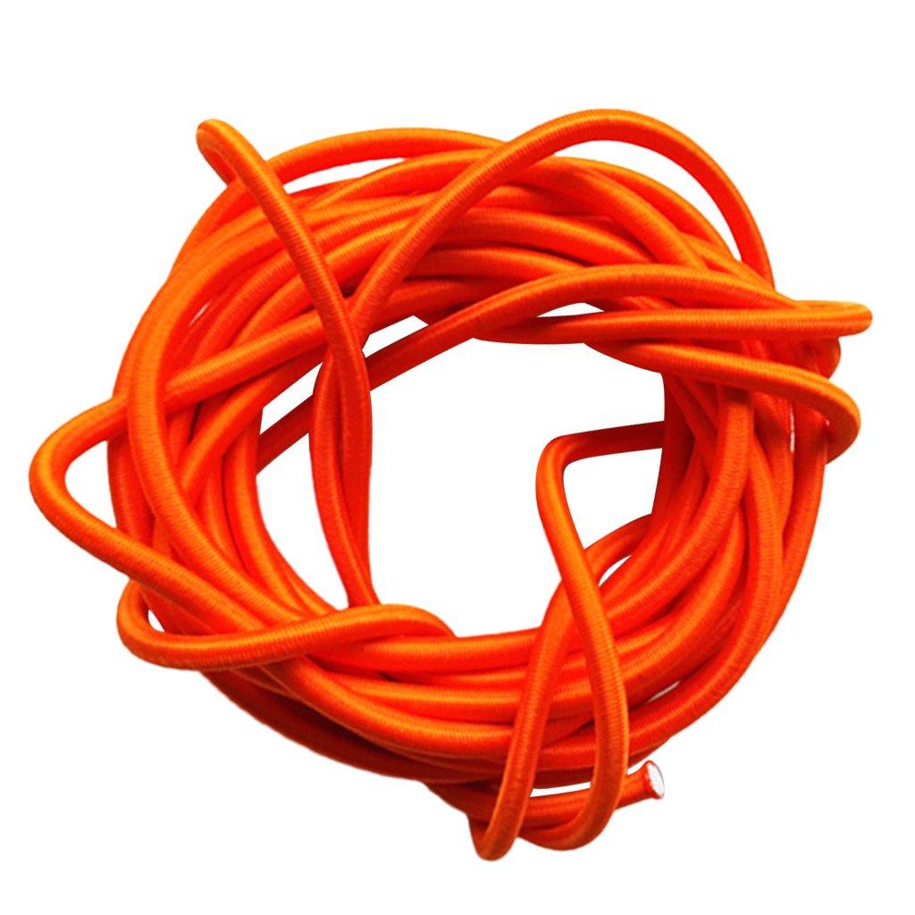 5mmx10m multifunktionales starkes elastisches Gummi Bungee Schockschnurseil