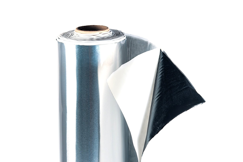 25 x 50 cm ALUBUTYL Dämmmatte Bitumen-Ersatz Auto Tür HIFI Anti Dröhn Matte 24€/m² zzgl. Versand StickandShine