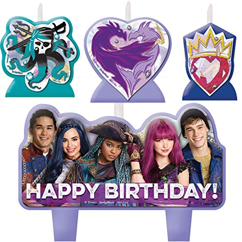 Amscan Disney Descendants 2 Birthday Candle Set ()
