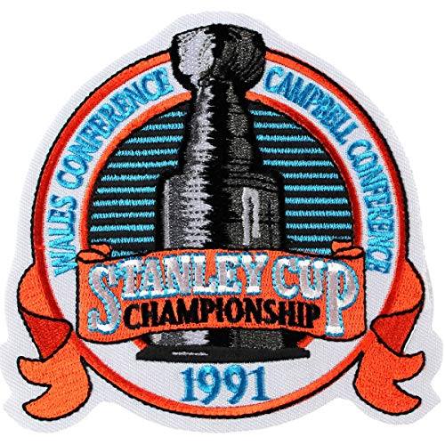 AJ Sports World 1991 Stanley Cup Finals Authentic Jersey Patch - Penguins vs North - Stanley Cup 1991