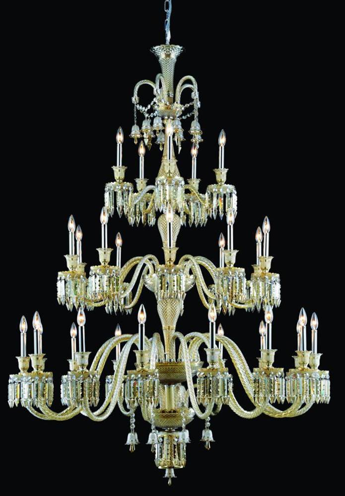 42-Light Traditional Chandelier