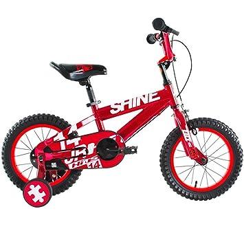 Bicicletas HAIZHEN Cochecito niños, niños, 2 a 13 años con Ruedas de Entrenamiento Ajustables