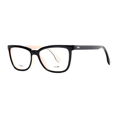 1ce4b0633bc3 Image Unavailable. Image not available for. Color  FENDI Eyeglasses 0122  0MG1 Black ...