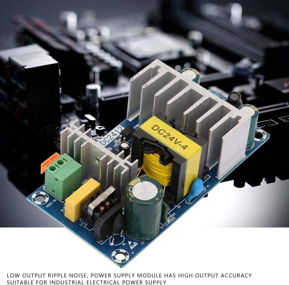 WX-DC2412 M/ódulo de fuente de alimentaci/ón de conmutaci/ón de alta potencia de 100 W con sobrevoltaje Sobrecarga de corriente Protecci/ón contra cortocircuitos Entrada AC85V-245V Salida DC24V 4-6A Salid
