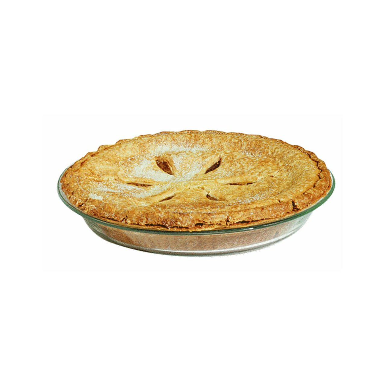 Pyrex Glass Pie Plate Round pack of 6