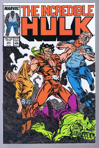 Incredible Hulk #330 w/ 1st Todd McFarlane artwork 1987 Marvel Comics