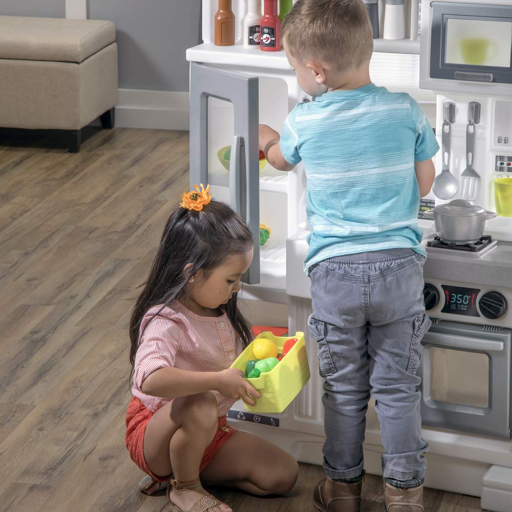 Step2 Downtown Delights Kitchen Kids Playset, Gray by Step2 (Image #3)
