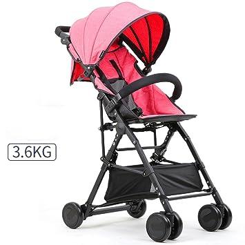 Carrito de bebé Baby Cart Ultra-Ligero Portátil y Bicicleta ...