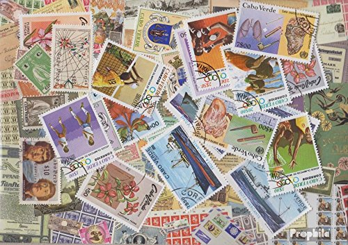 Cape Verde 25 Different Stamps (Stamps for Collectors)