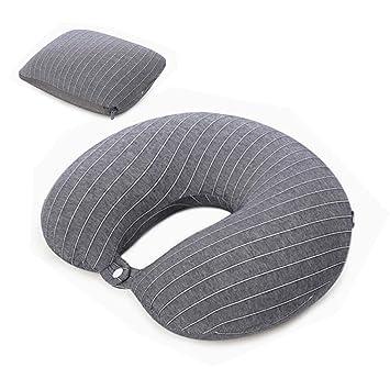 Pillow Almohada de avión de Viaje, Cojín ergonómico ...