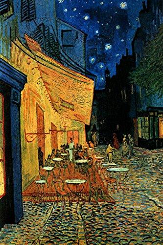 Vincent van Gogh Cafe Terrace At Night Dutch Post Impressionist Painter Poster - 24x36 ()
