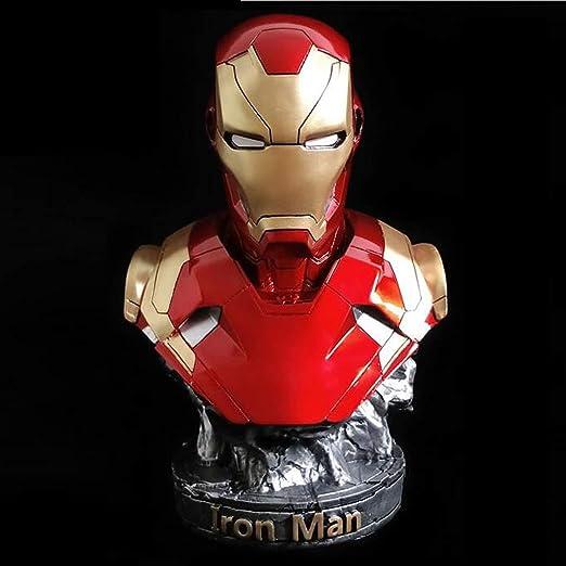 Avengers 3 Iron Man Modelo MK46 Estatua Decoración Busto ...