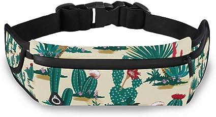 Floral Pattern Part Big Flower Running Lumbar Pack For Travel Outdoor Sports Walking Travel Waist Pack,travel Pocket With Adjustable Belt