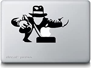 Indiana Jones- Decal Sticker for MacBook, Air, Pro All Models