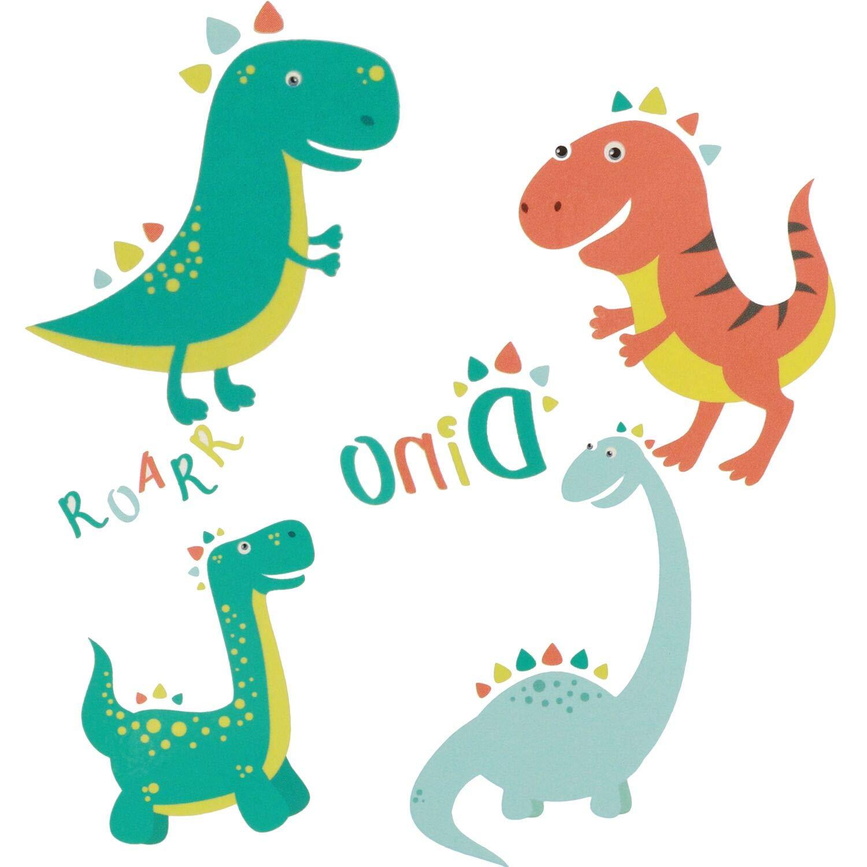 Herefun Tatouages temporaires de Dinosaure 8 sheets Faveurs de partie de dinosaure Party Supplies Tattoos /Étanche pour Enfants Fille Gar/çons F/ête danniversaire Petit Cadeau de f/ête Sacs Surprise