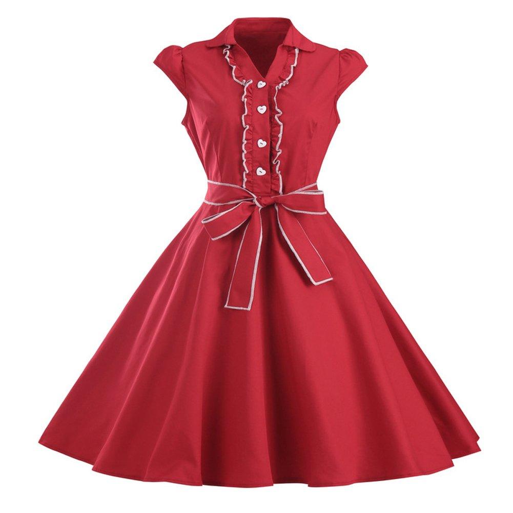 Vestidos de fiesta inspirados en los años 50