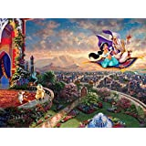 Ceaco Thomas Kinkade - Disney Dreams Collection - Aladdin Puzzle