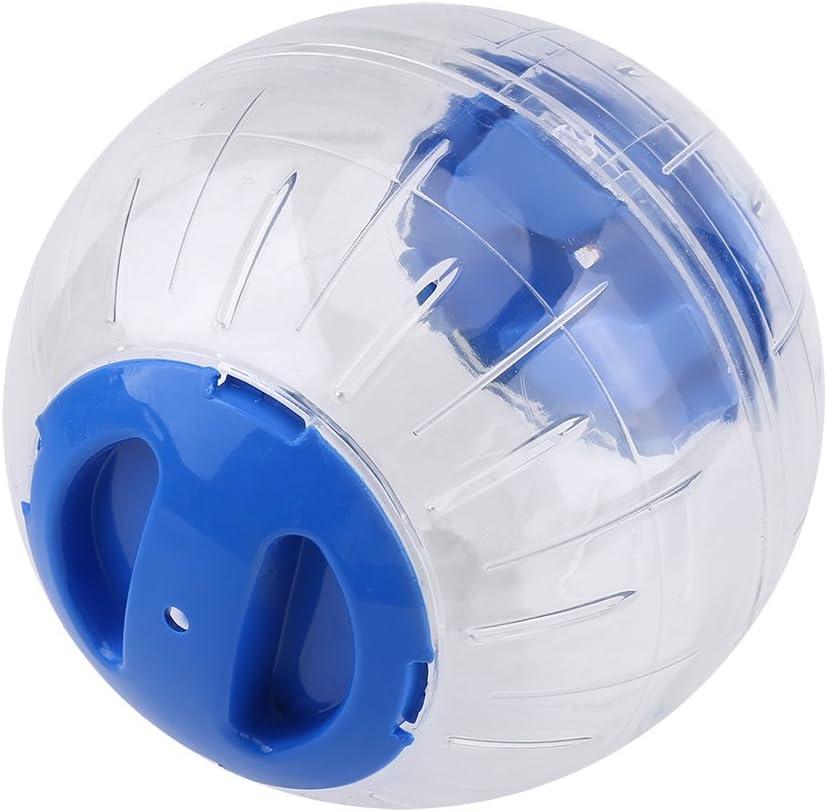 Zerodis Hámster Ejercicio Pelota Plástico Mascota Pequeña Gerbil Juguete Actividad para Correr Mini Pelota Colores Surtidos(Blue)