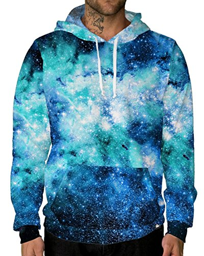 INTO THE AM Nebula Skies Premium All Over Print Hoodie (4X-Large)