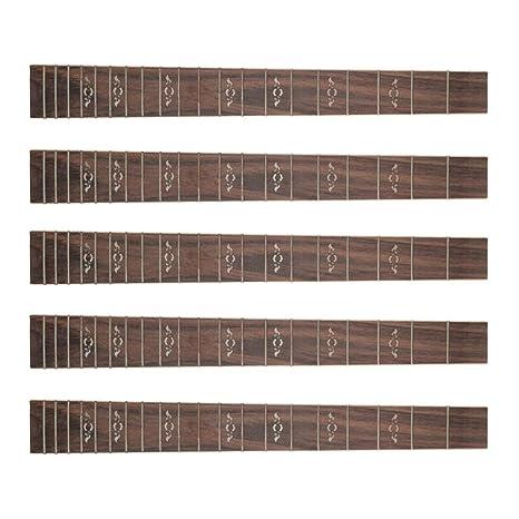 Homyl 5 UNIDS 41 20 Trastes Guitarra Diapasón Acústica Folk ...