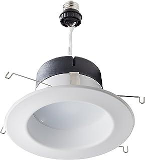 philips 798801 65 watt equivalent recessed retrofit led downlightphilips led downlight 1 pack, 50w equivalent 5 6 inch retrofit recessed lighting,