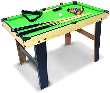 WXS Mini Mesa De Billar, Juegos For Niños, Compactos Mesa De ...