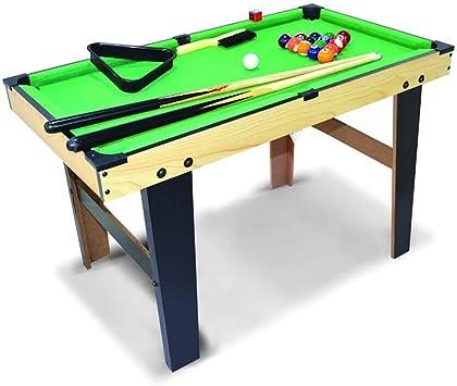 WXS Mini Mesa De Billar, Juegos For Niños, Compactos Mesa De Billar con Bolas Palos Madera Mesa De Billar For El Hogar Partido Uso: Amazon.es: Deportes y aire libre