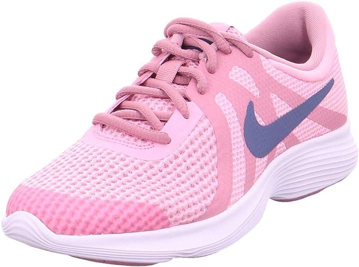 Nike Revolution 4 (GS), Zapatillas de Running para Niñas, Rosa (Pink/Diffused Blue-Elemental Pink-White 602), 40 EU: Amazon.es: Zapatos y complementos
