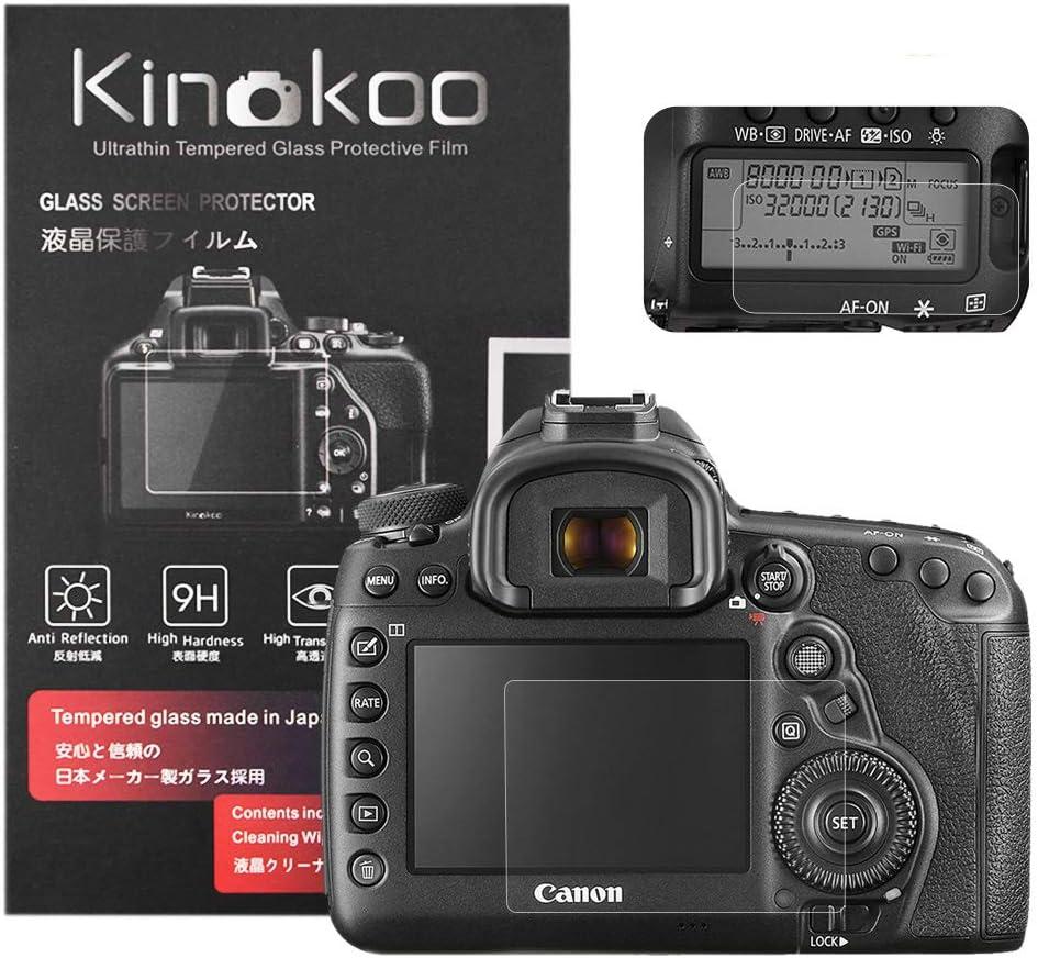 Kinokoo Gehärtetes Glas Für Canon Eos 5d Mark Iv Kamera
