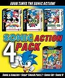 Sega Sonic Action Pack (Sonic & Knuckles / Sega Smash Pack 2 / Sonic CD / Sonic R)