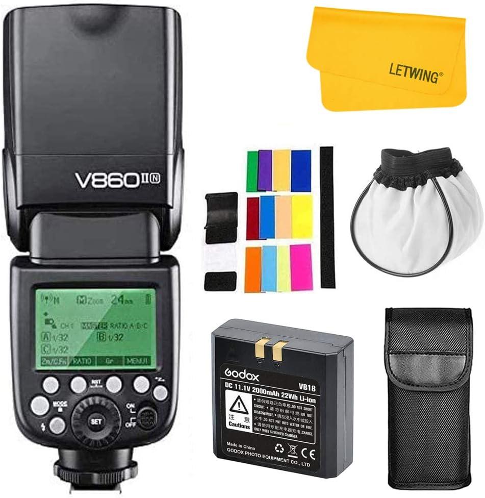 Godox V860iin I Ttl 2 4g Gn60 Hss Kamera Speedlite Kamera