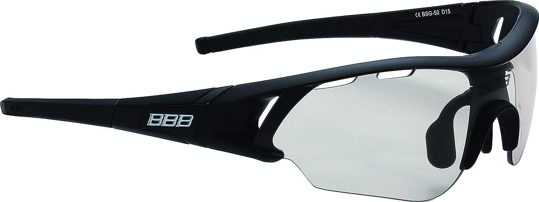 BBB Cycling Sportbrille Radfahren Summit mit Wechselobjektiven, Unisex Erwachsene Einheitsgröße, BSG-50