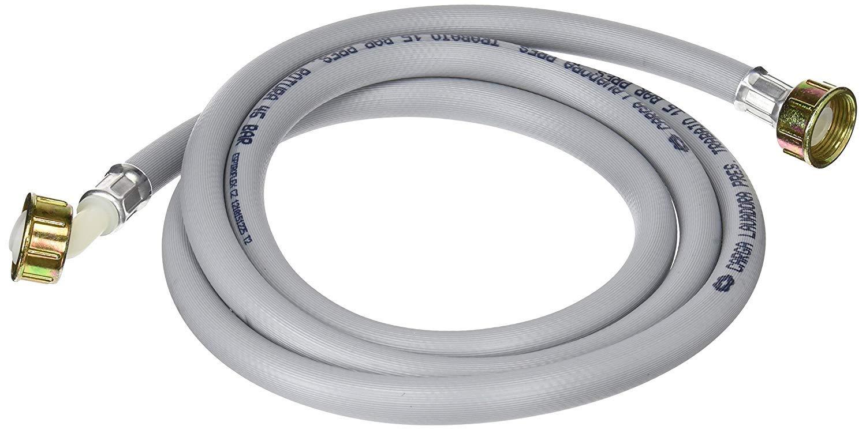 Cira - Manguera toma agua lavadora 2m gris con roscas metálicas ...