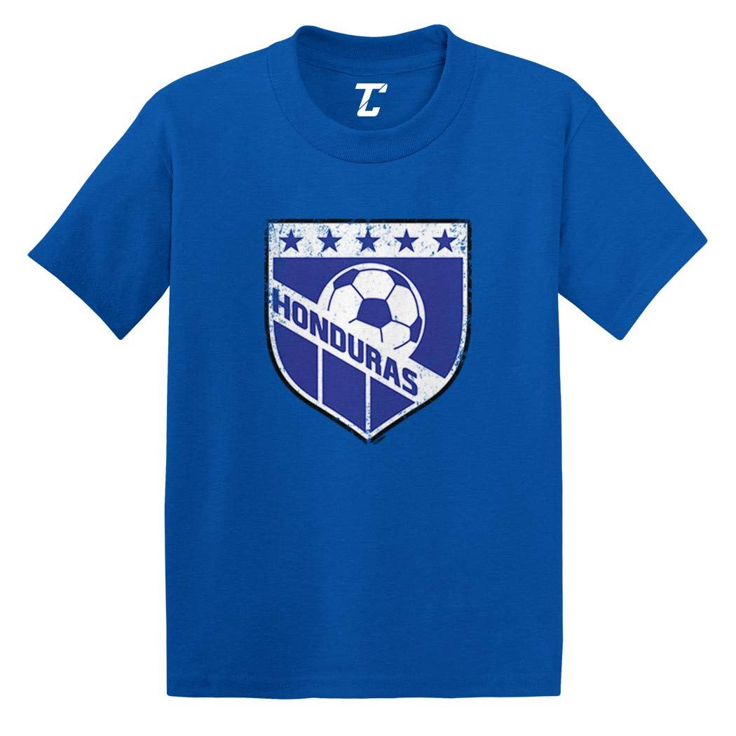 Honduras Soccer Distressed Badge Infanttoddler Shirts