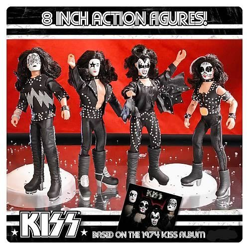 - KISS 1st Album Series 2 8-Inch Action Figures Set by Figures Toy Company