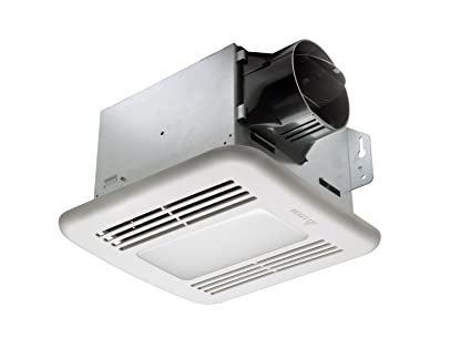 Delta BreezGreenBuilder GBR80LED 80 CFM Exhaust Bath Fan/Dimmable LED Light