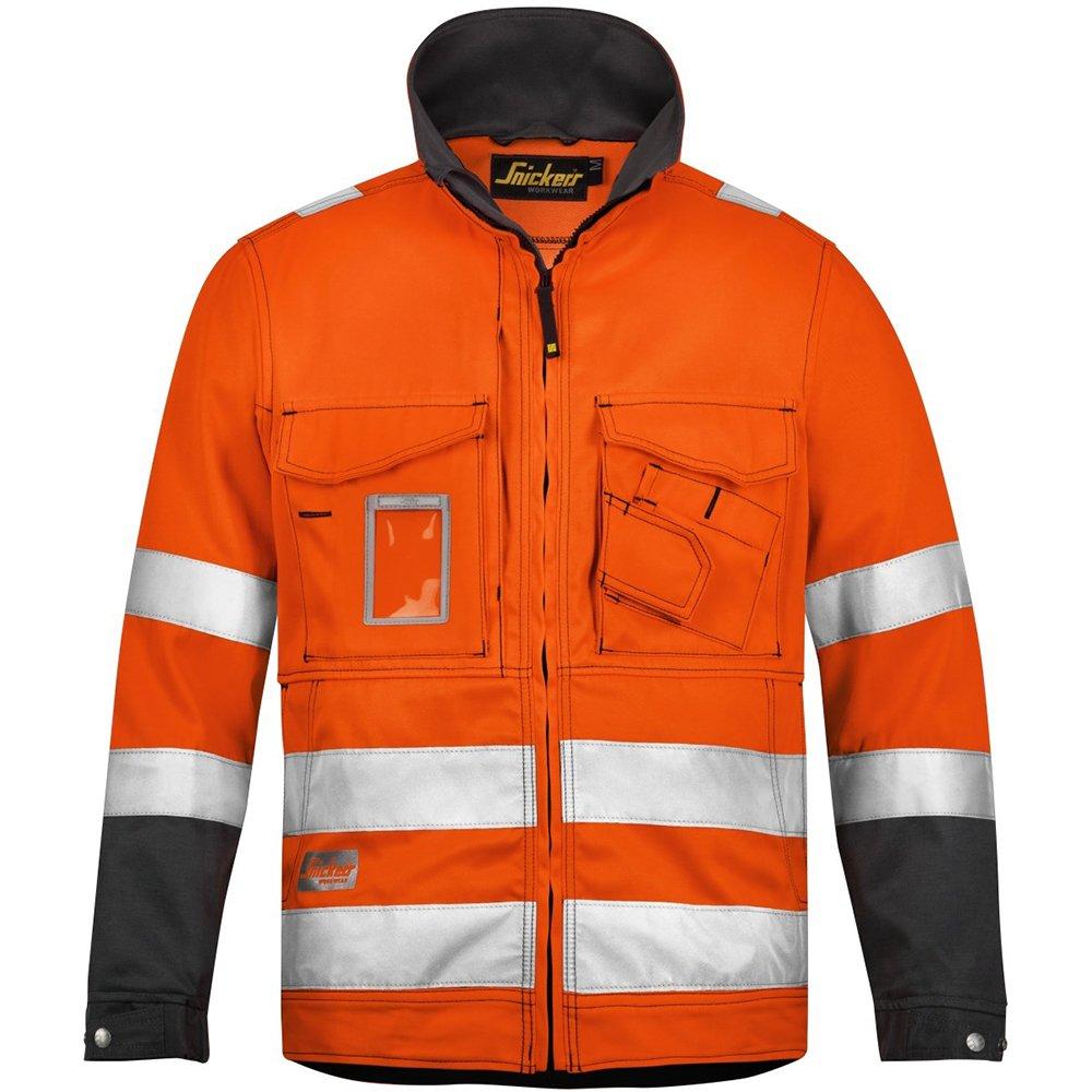 Snickers Warnschutzjacke Klasse 3, 1 Stück, XS, orange / anthrazit, 16335574003