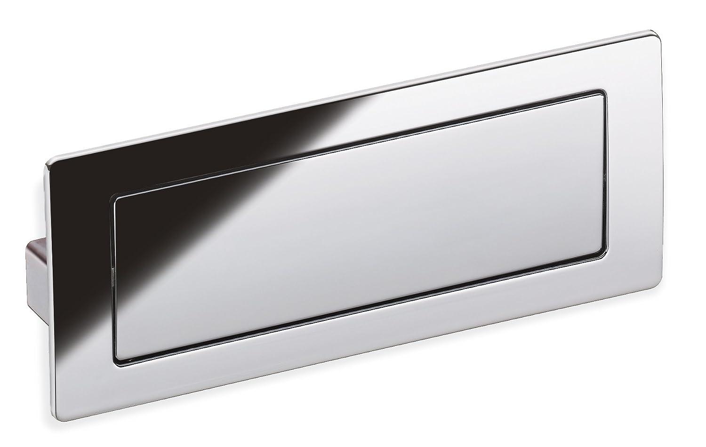 Schwinn Z075 Covered Flush Pull, Polished Chrome - Shelving Hardware ...
