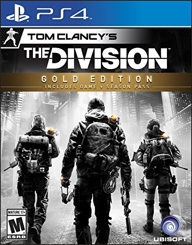 Tom Clancy's The Division Gold Edition - PS4 [Digital Code] [Online Game Code] (Build A Base And Attack Others Game)