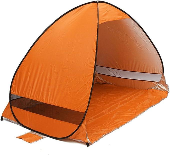 Al aire libre portátil abierto Camping viaje familia tienda de campaña para la playa, purplesalt® – instantánea Pop Up plegable automático Cabana ...