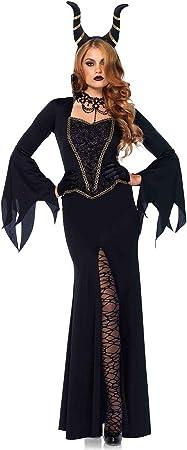 Leg Avenue 85535 - Disfraz de Mal de Mal Negro para Disfraz de ...