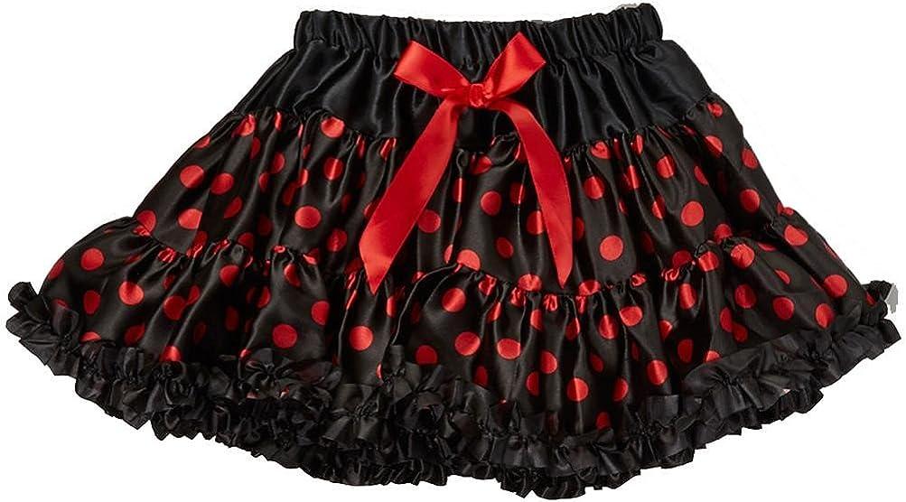 3T-4T wenchoice Girls Black /& Pink Polka Dot Tutu M