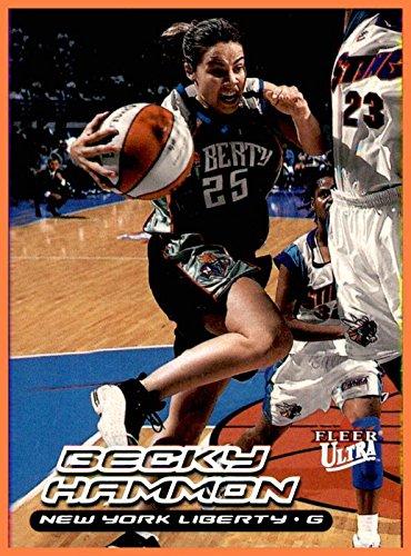 Becky Hammon RC ROOKIE NEW YORK LIBERTY COLORADO STATE ()