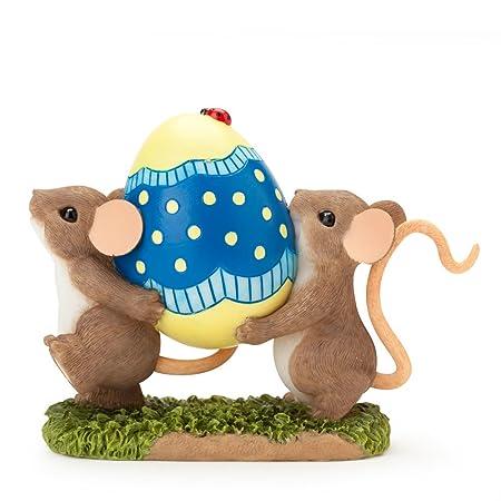 Enesco Charming Tails Egg-ceptional Figurine